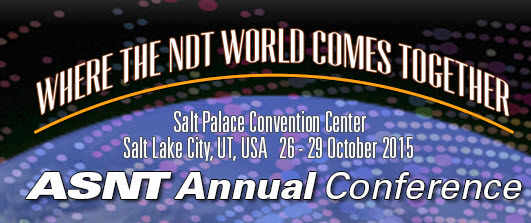 ASNT Annual Conference 2015