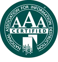 NAID AAA Certified scrap xray film